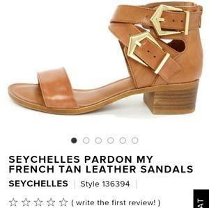 *Black* Seychelles Gladiator Sandals Sz 10